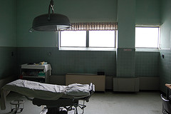 Vacant operating room